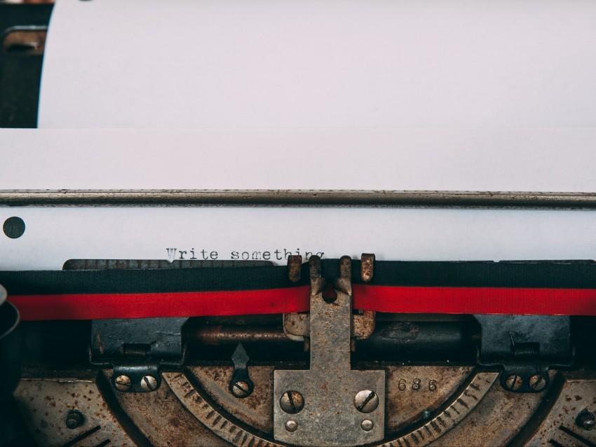 free PNG typewriter, letters, words, sheet, inscription background PNG images transparent