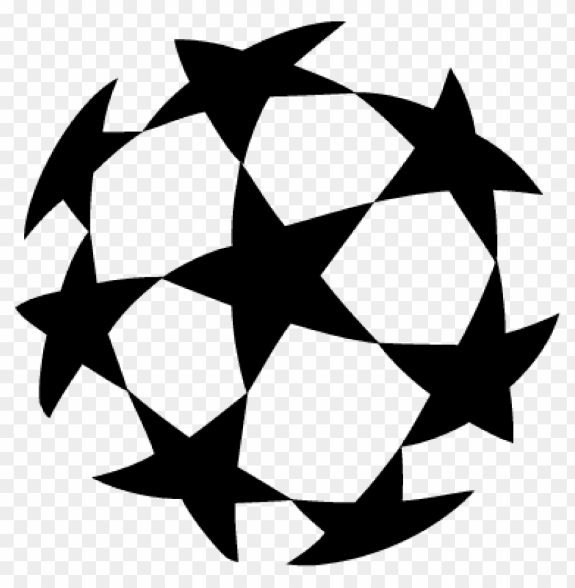 uefa champions league ball logo png images background toppng uefa champions league ball logo png