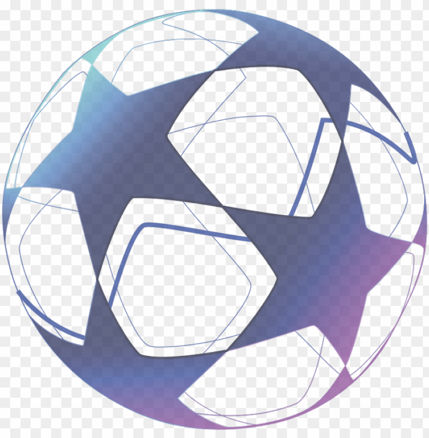 Uefa Champions League Football Ball Stars Png Image With Transparent Background Toppng