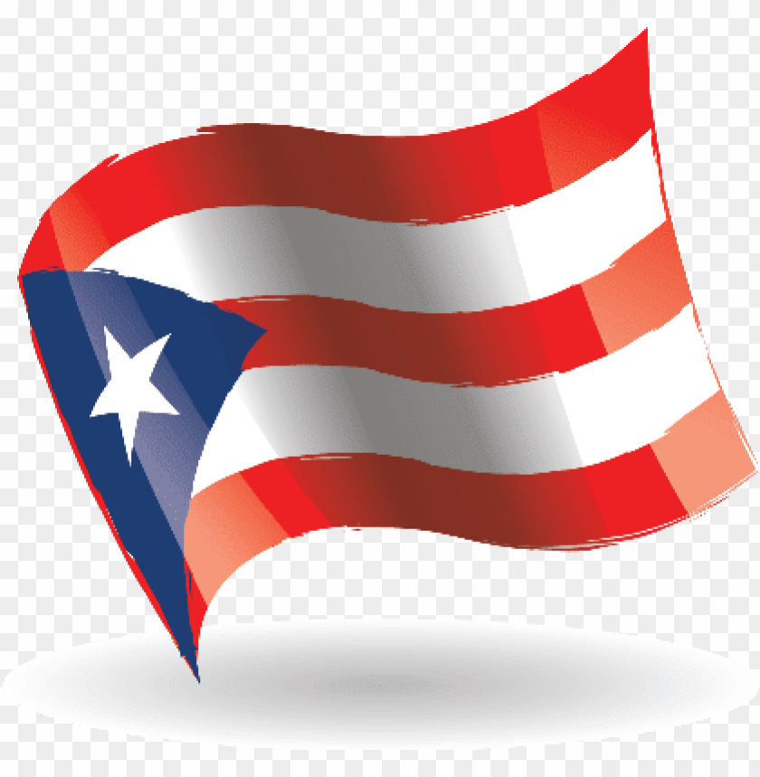 free PNG uerto rico flag waving puerto rican flag clipart - puerto rico flag movi PNG image with transparent background PNG images transparent