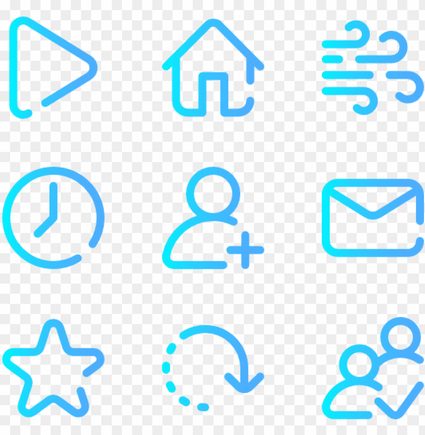 ui interface gradient icons png image with transparent background toppng ui interface gradient icons png image