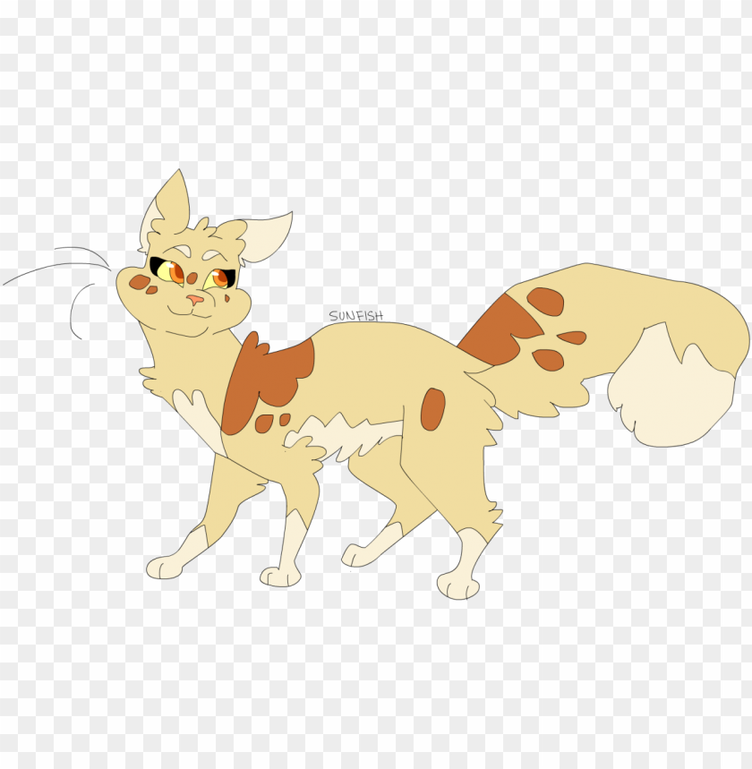 free PNG ukari's warrior cats - cat PNG image with transparent background PNG images transparent