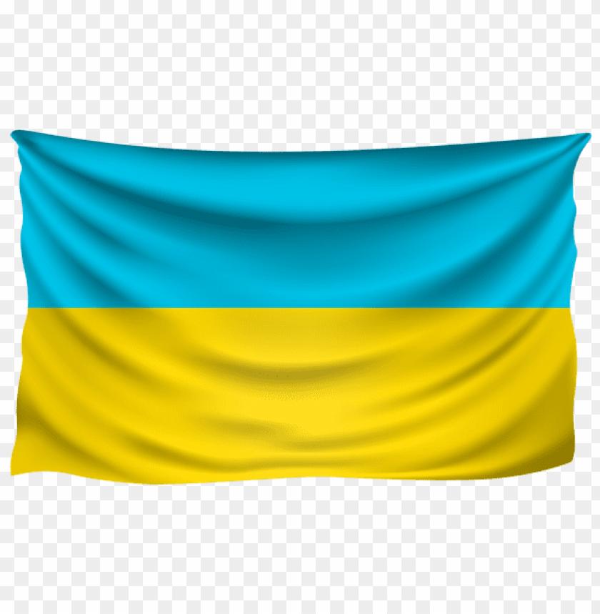 free PNG Download ukraine wrinkled flag clipart png photo   PNG images transparent