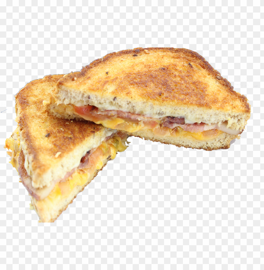 Ultimate Bacon Grilled Cheese Ham And Cheese Sandwich Png Image With Transparent Background Toppng