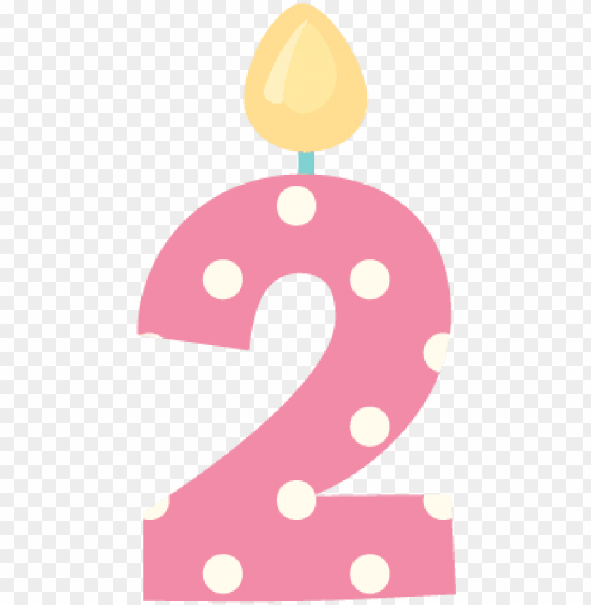 Umber 3 Birthday Png Gifs Numero 2 Png Image With