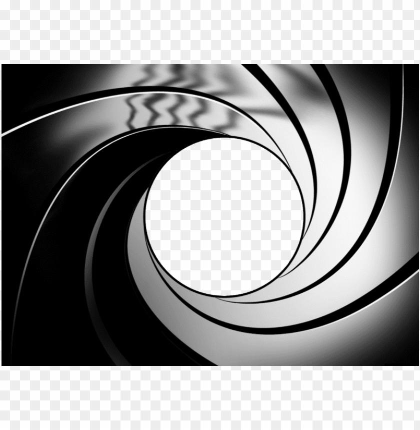 free PNG un barrel png - james bond spiral vector PNG image with transparent background PNG images transparent