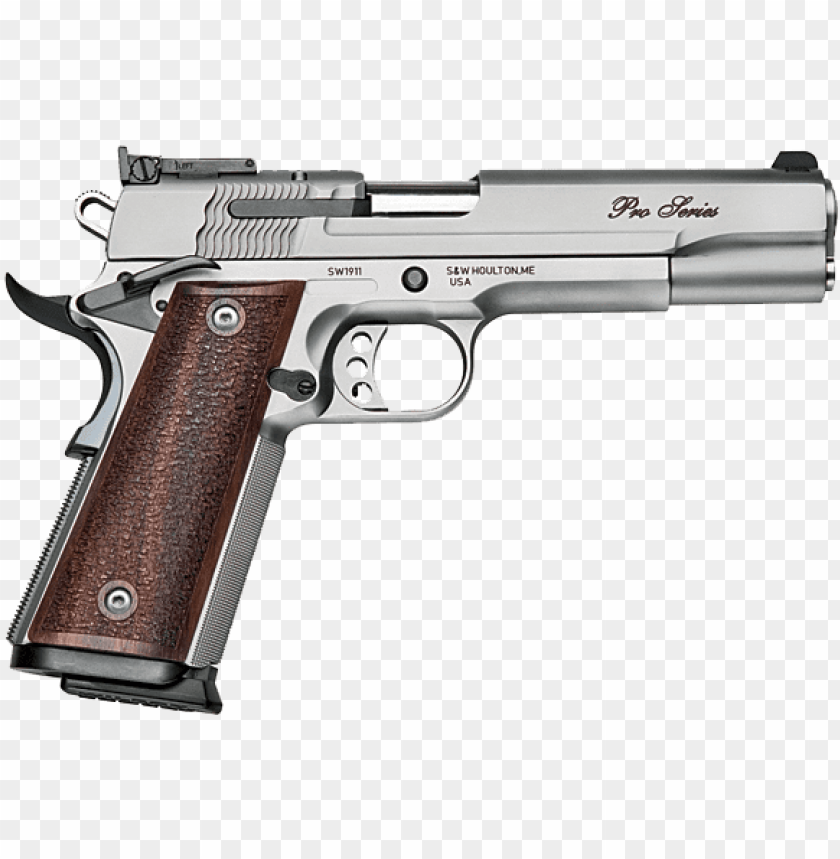 un png transparent background transparent gun transparent - smith and wesson 9mm 1911 PNG image with transparent background@toppng.com