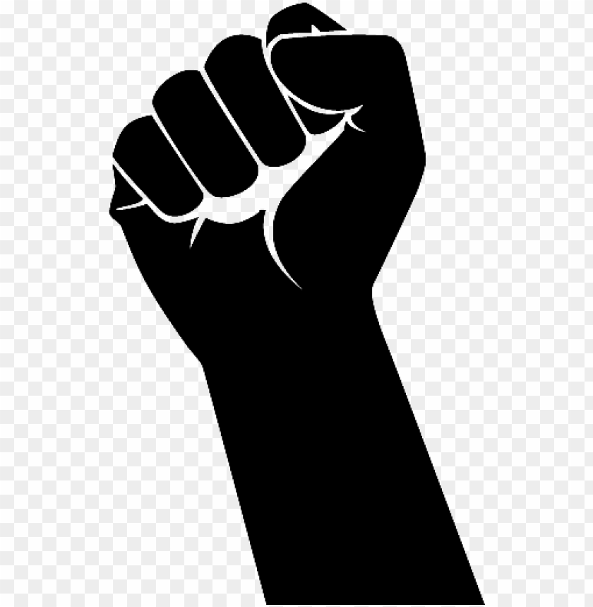 Unch Hand Png Raised Fist Png Image With Transparent Background Toppng Its resolution is 850x421 and the resolution can be changed at any time according to your needs after downloading. unch hand png raised fist png image