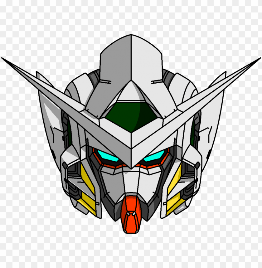 Exceptional Logo Gundam Head Vector Picture Download