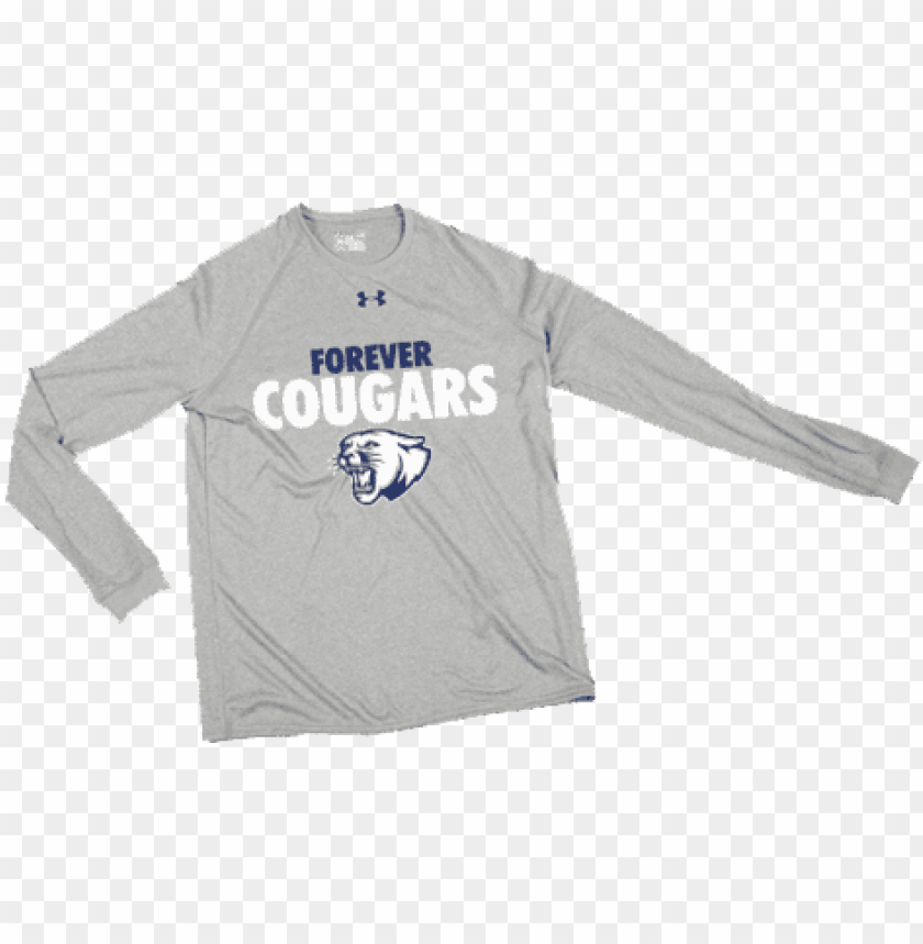 free PNG under armour long sleeve locker tee - high school basketball warm up desi PNG image with transparent background PNG images transparent