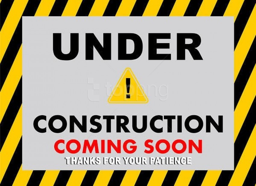 free PNG under construction coming soon background best stock photos PNG images transparent