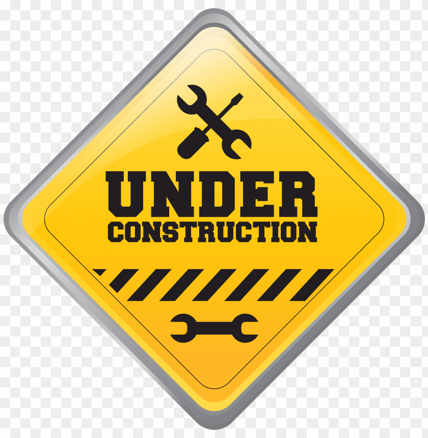 Download under construction sign clipart png photo  @toppng.com