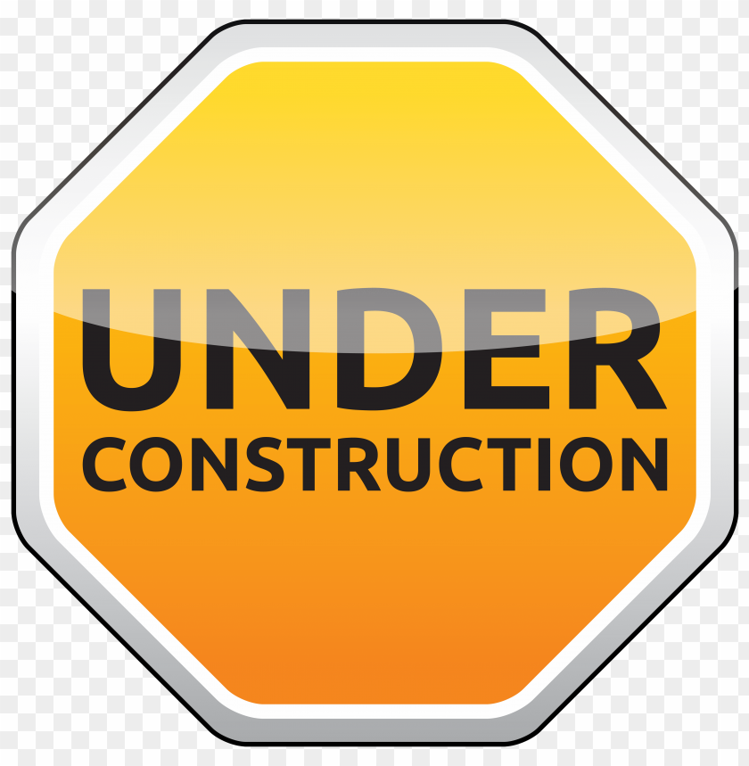 free PNG under construction sign png - Free PNG Images PNG images transparent