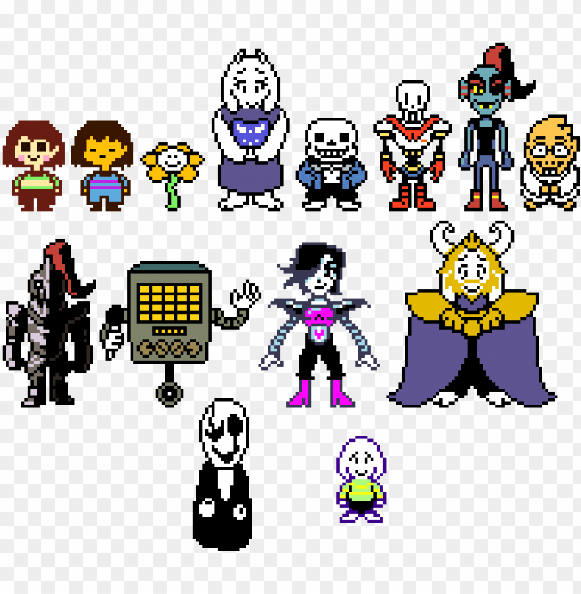 Undertale Overworld Sprites Undertale Overworld Sprites Animated Png Image With Transparent Background Toppng