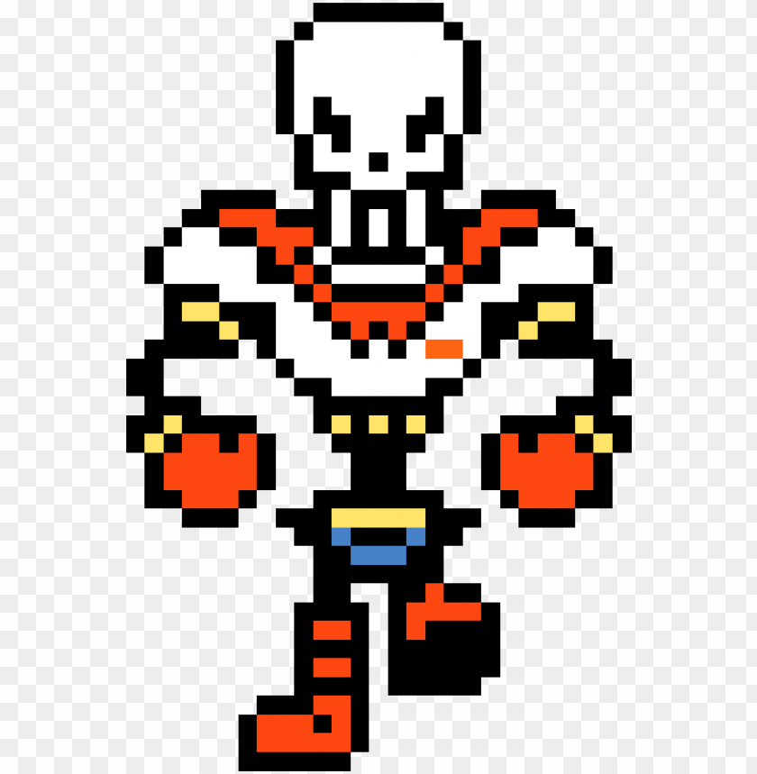 Undertale Papyrus Png Png Transparent Download Undertale Papyrus Pixel Art Png Image With Transparent Background Toppng