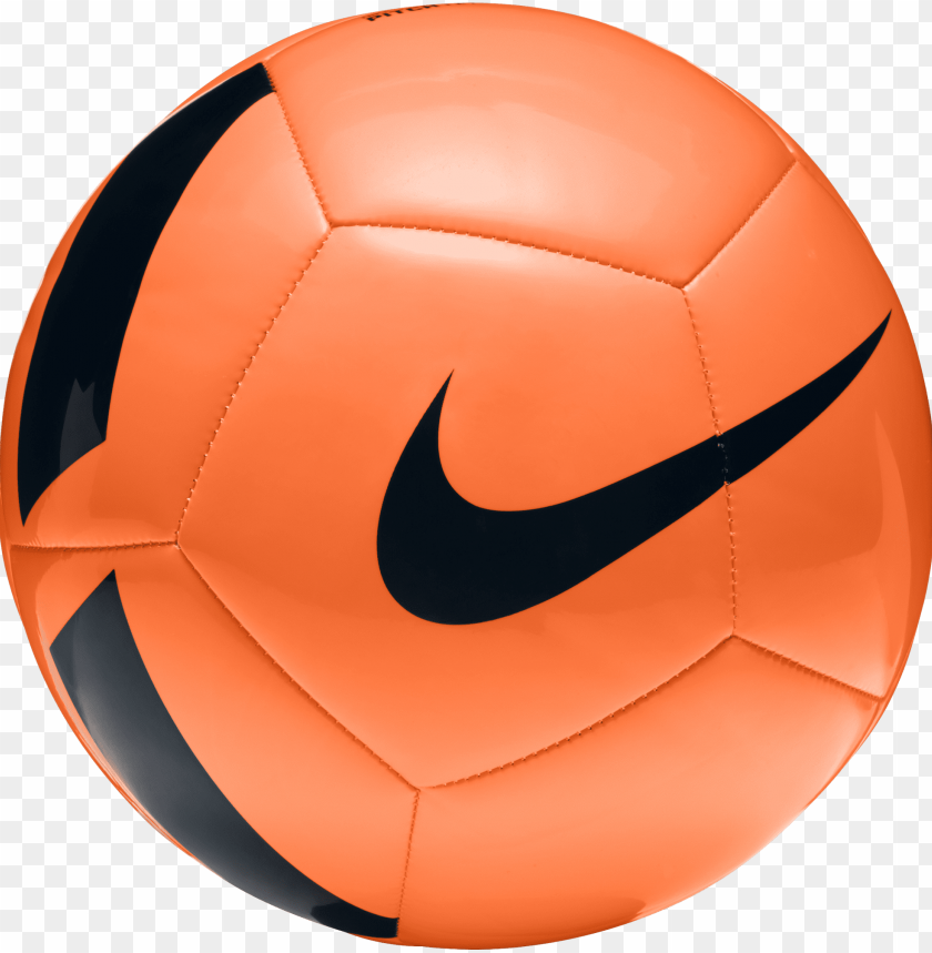 free PNG unisex nike pitch team football - nike soccer ball orange PNG image with transparent background PNG images transparent