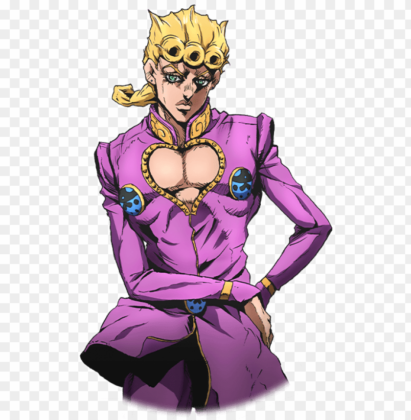 free PNG unit giorno giovanna - giorno giovanna cosplay PNG image with transparent background PNG images transparent