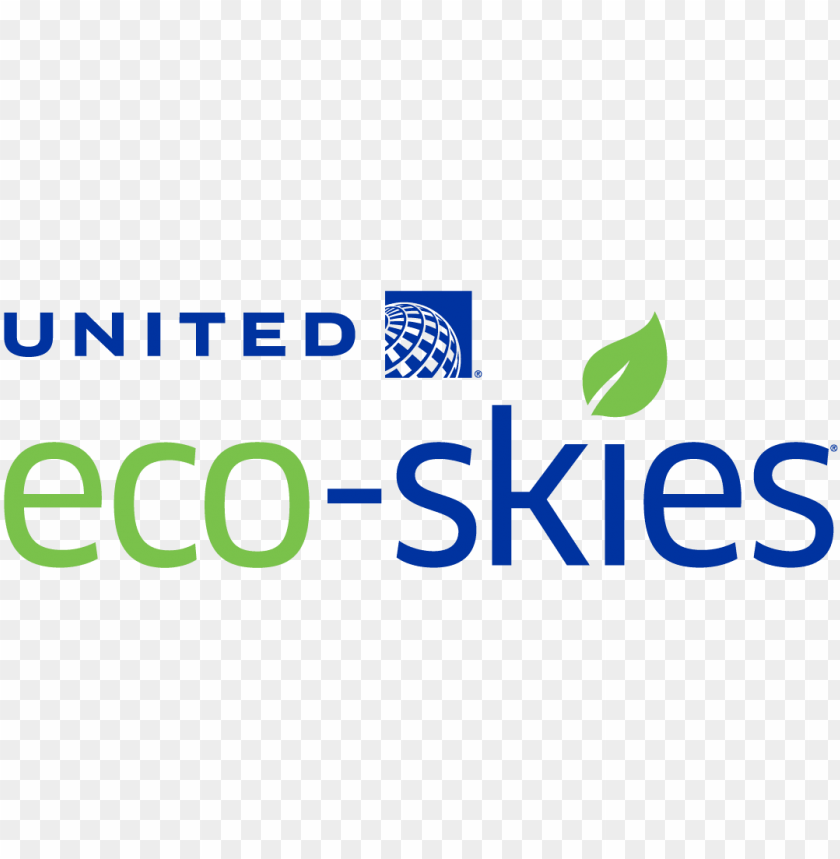 free PNG united airlines - united eco skies logo PNG image with transparent background PNG images transparent