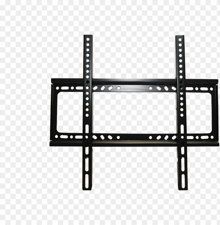 free PNG universal led tv wall mount fixed type bracket - flat panel tv wall mount 26 55 PNG image with transparent background PNG images transparent