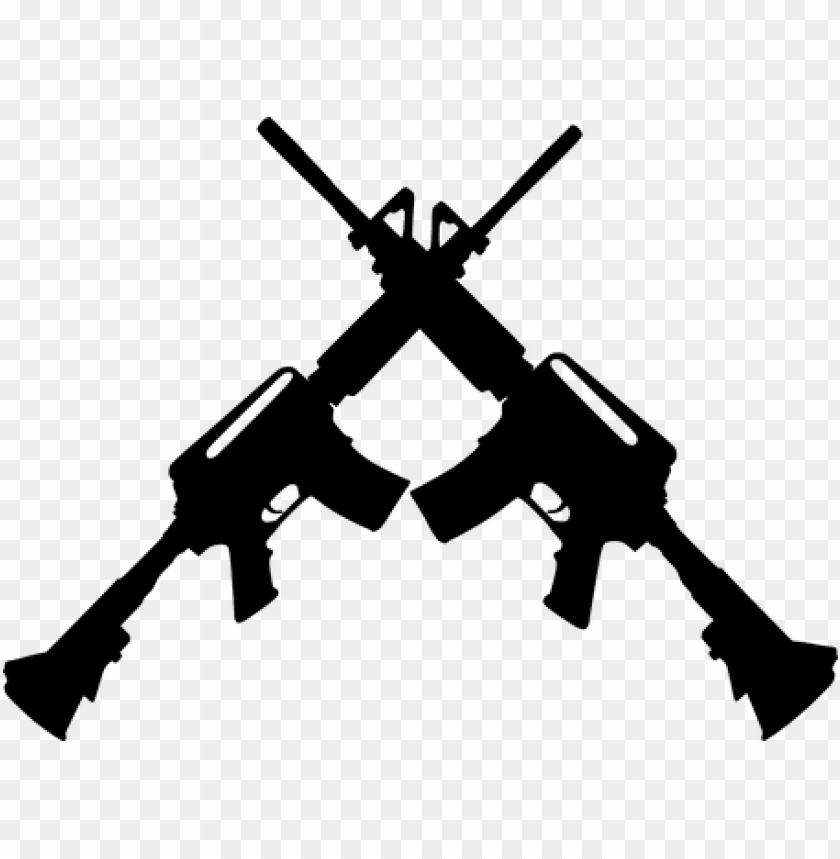 free PNG uns arms ak-47 kalashnikov automatic defe - ar 15 crossed PNG image with transparent background PNG images transparent