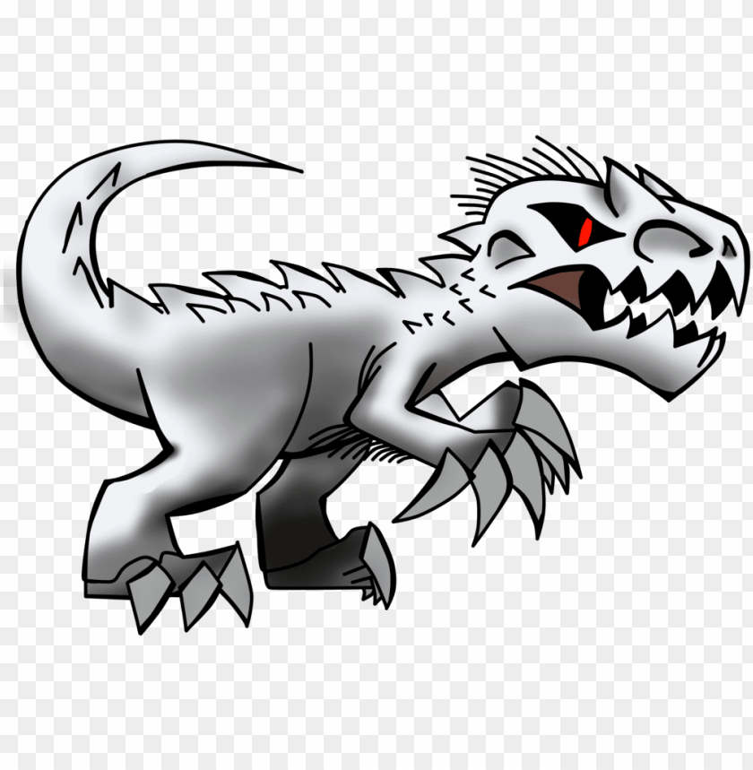 indominus rex PNG image with