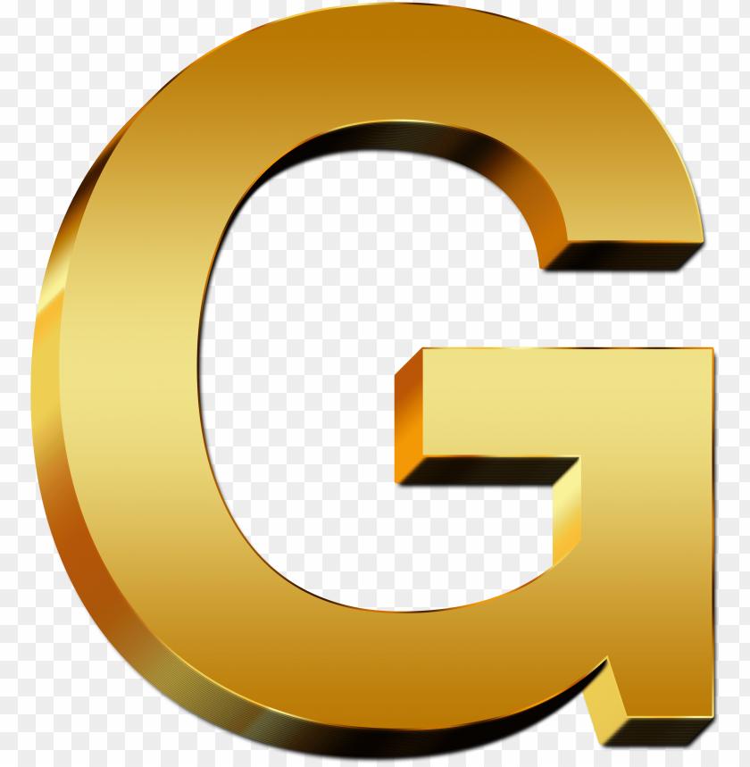 free PNG uppercase letter gold g - gold letter g PNG image with transparent background PNG images transparent