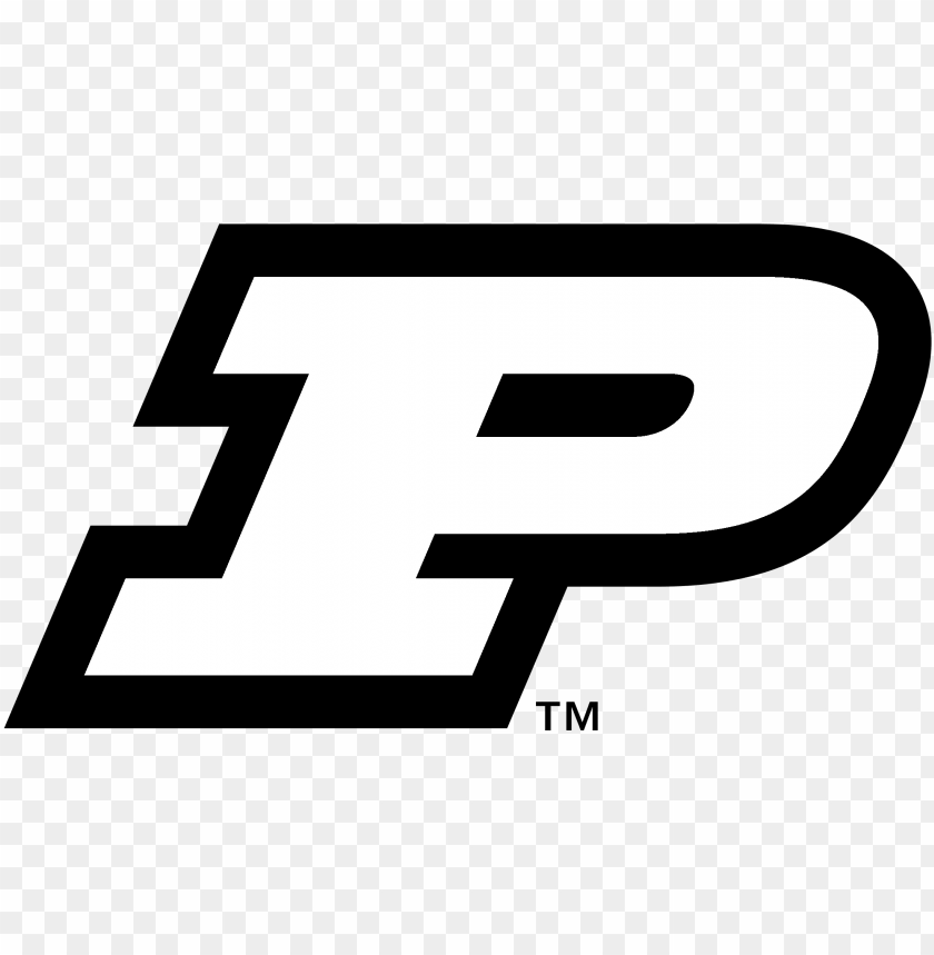 free PNG urdue university boilermakers logo black and white - purdue logo black and white PNG image with transparent background PNG images transparent