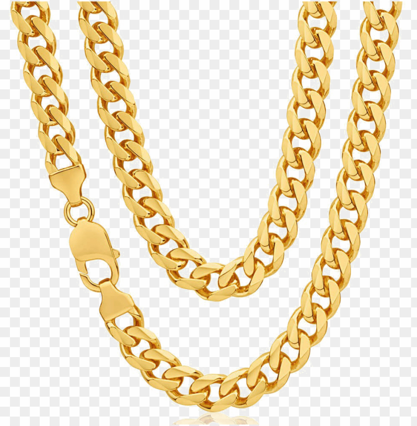 free PNG ure gold chain png transparent image - gold chain in 20 grams PNG image with transparent background PNG images transparent