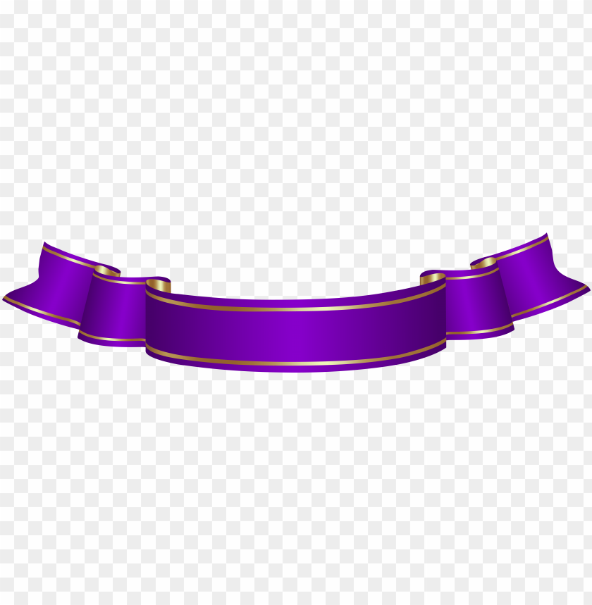 free PNG urple banner transparent png clip art - purple ribbon banner clipart PNG image with transparent background PNG images transparent