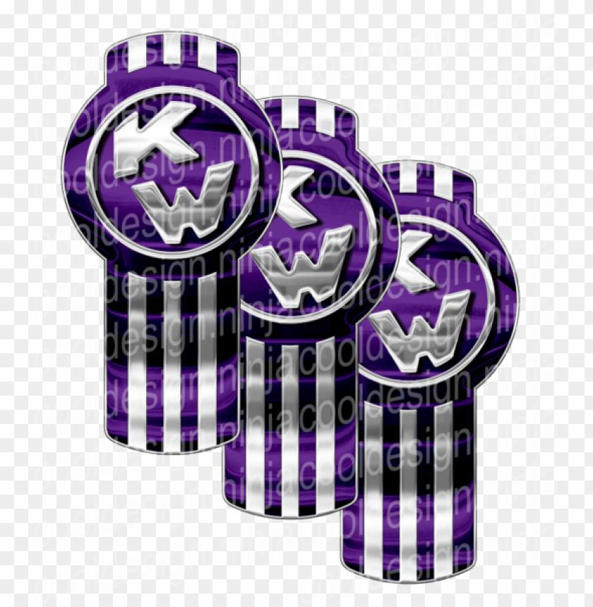 free PNG urple chrome kenworth emblem skins - kenworth bug logo PNG image with transparent background PNG images transparent