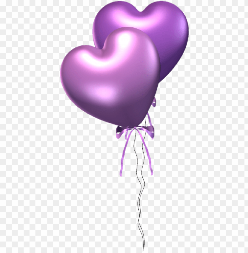 free PNG urple heart balloons PNG image with transparent background PNG images transparent