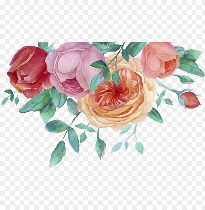 free PNG urple watercolor flower png - decoration flowers watercolor PNG image with transparent background PNG images transparent