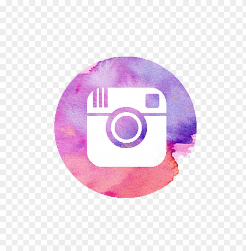 free PNG urple watercolor instagram ico PNG image with transparent background PNG images transparent
