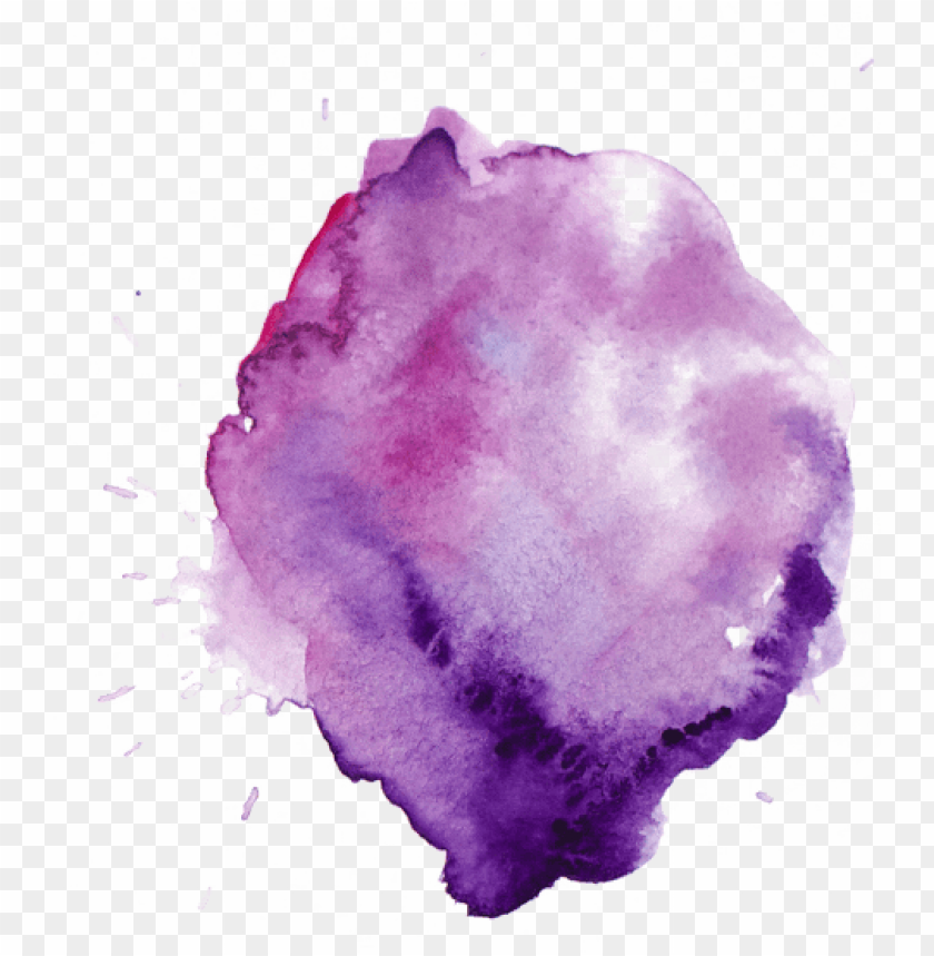 free PNG urple watercolor stain PNG image with transparent background PNG images transparent