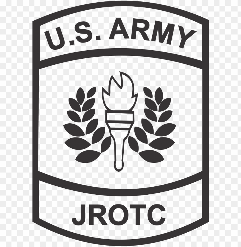 free PNG us army jrotc - us army jrotc black and white PNG image with transparent background PNG images transparent