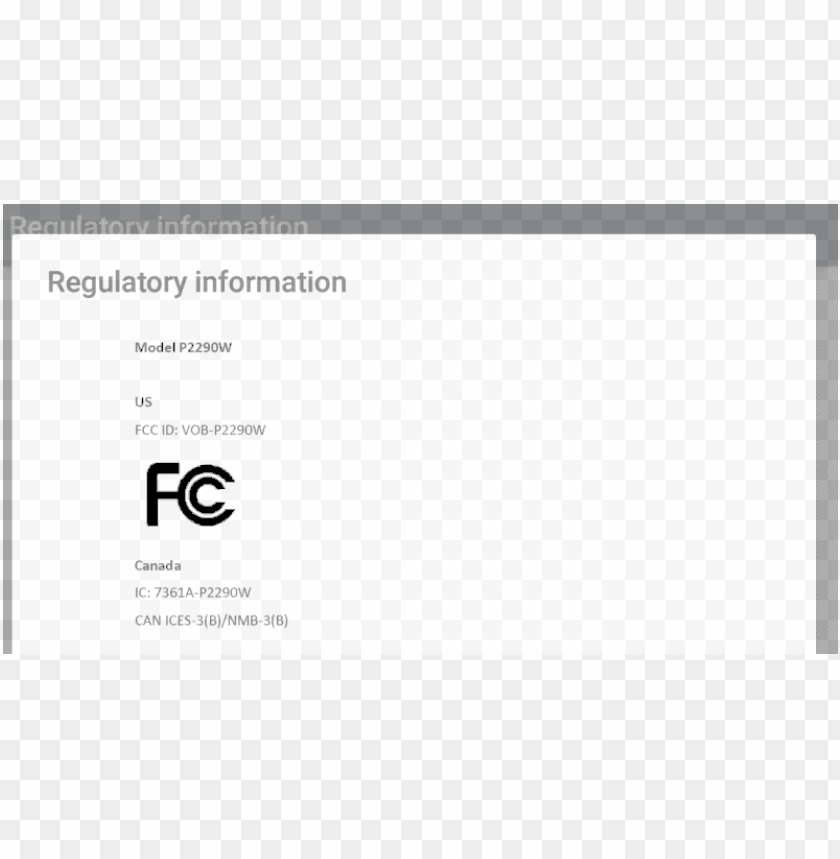 free PNG us fcc id PNG image with transparent background PNG images transparent