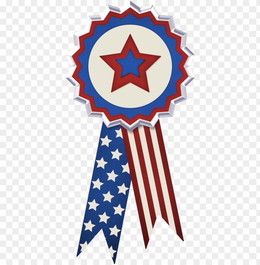 free PNG usa flag decor png - 4th of july ribbons PNG image with transparent background PNG images transparent