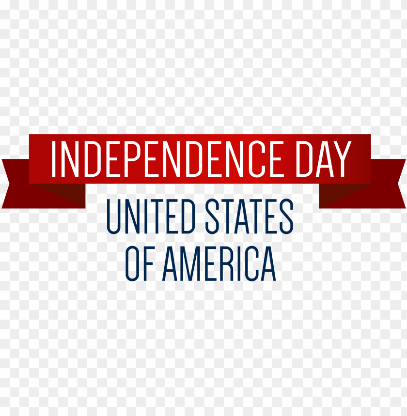 free PNG usa independence day banner png - banner independence day PNG image with transparent background PNG images transparent