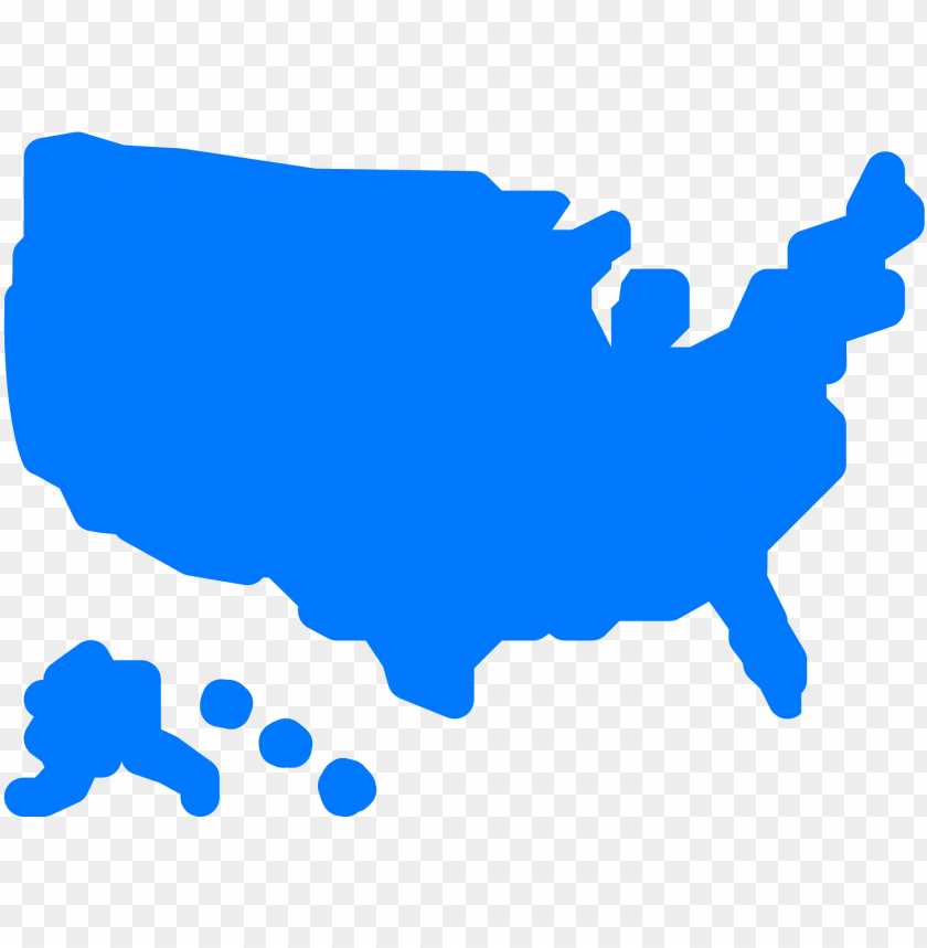 free PNG usa map filled icon - usa icon png - Free PNG Images PNG images transparent