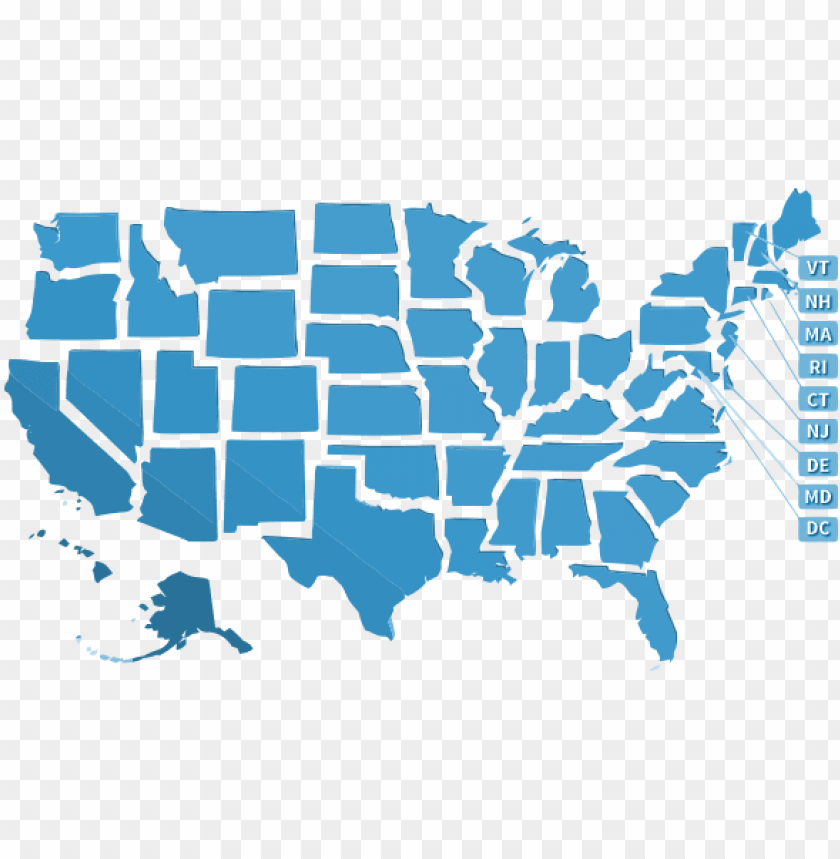 free PNG usa state map png - united state map stencil PNG image with transparent background PNG images transparent