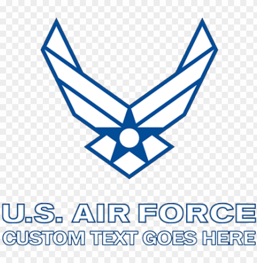 free PNG usaf logo png air force symbol with logotype white - air force logo outline PNG image with transparent background PNG images transparent