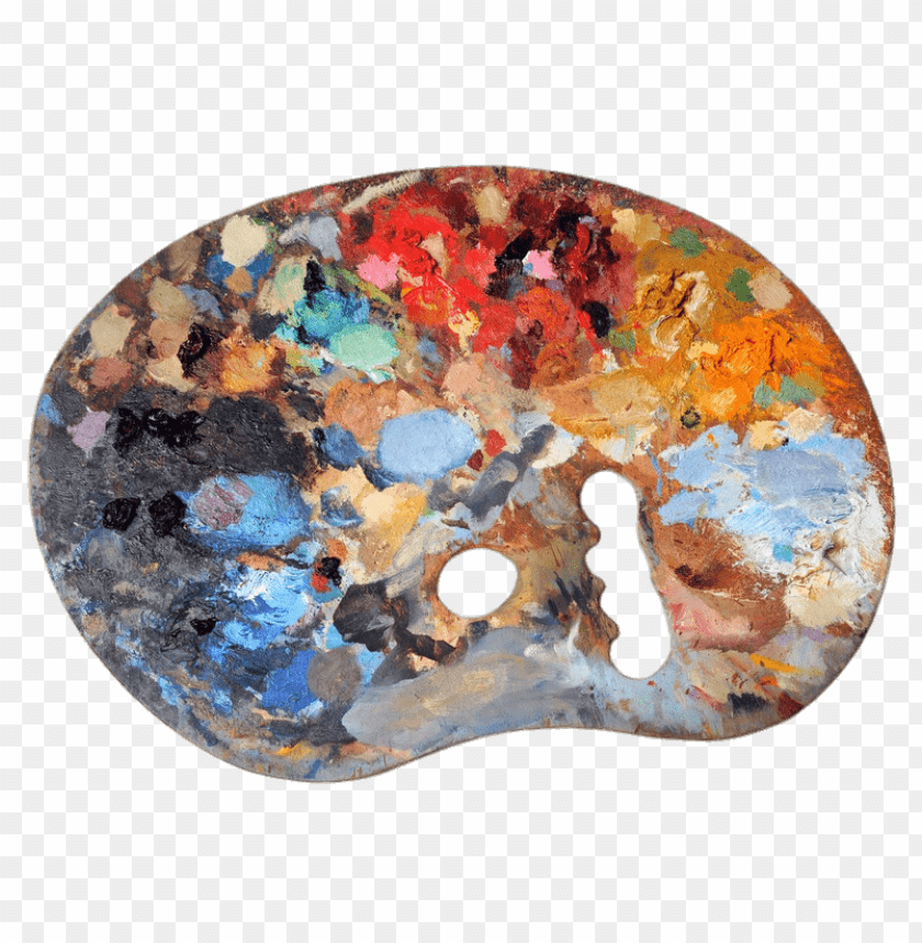 free PNG Download Used Artists Palette png images background PNG images transparent