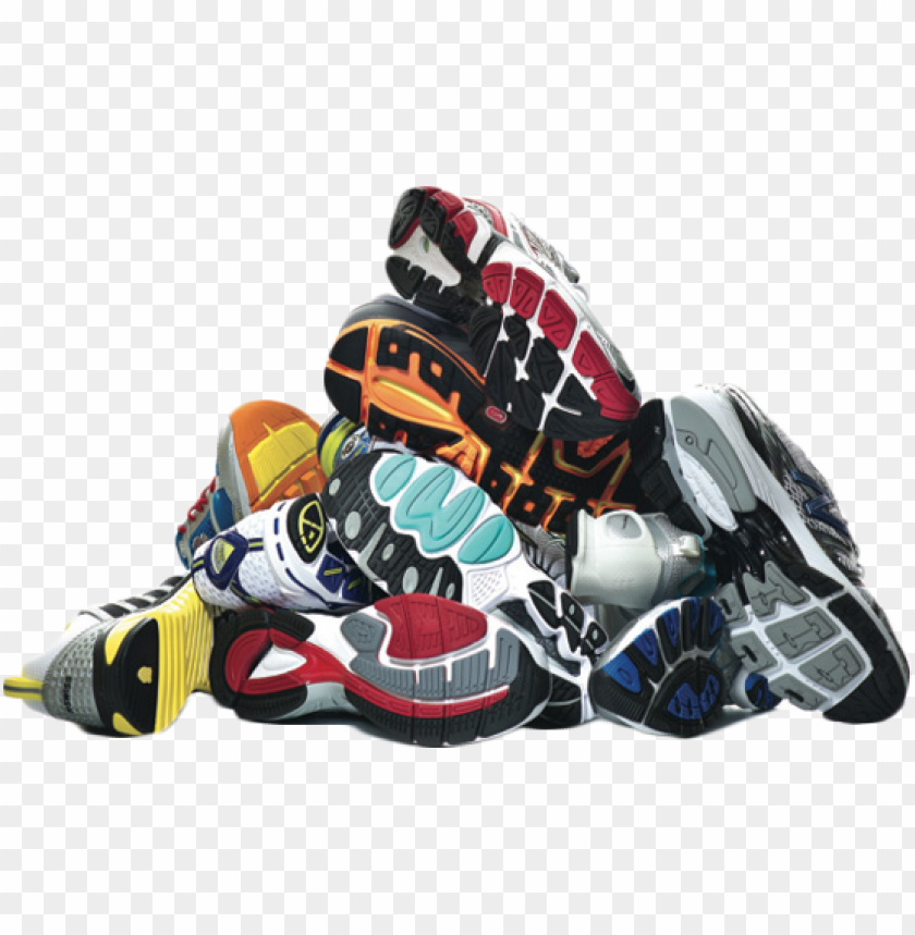 free PNG used men's shoes - pile of mens shoes PNG image with transparent background PNG images transparent