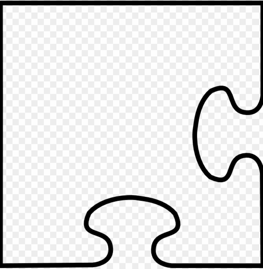 free PNG uzzle clipart drawing - corner jigsaw puzzle piece PNG image with transparent background PNG images transparent