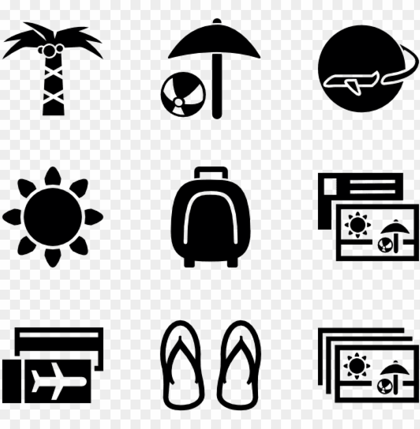 Vacation Travel Icon Transparent Background Png Image With Transparent Background Toppng