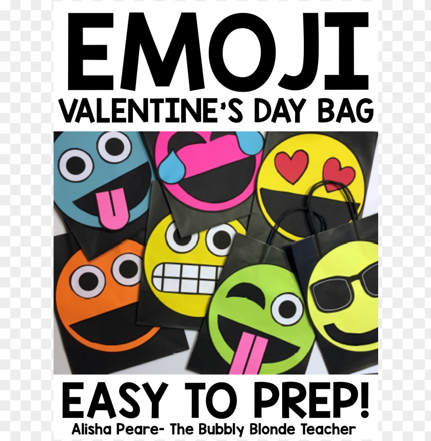 free PNG valentine's day bag- emoji PNG image with transparent background PNG images transparent