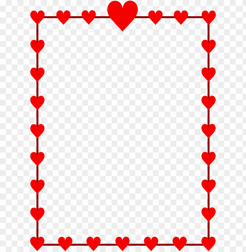 free PNG valentines day border PNG image with transparent background PNG images transparent