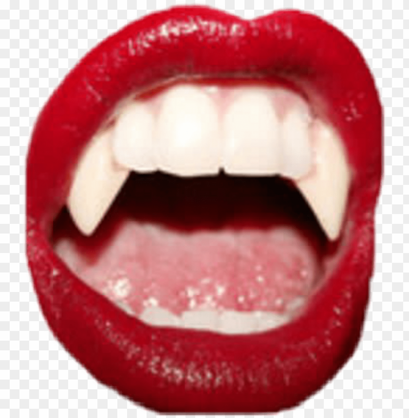 Vampire Sticker Aesthetic Red Png Image With Transparent Background Toppng