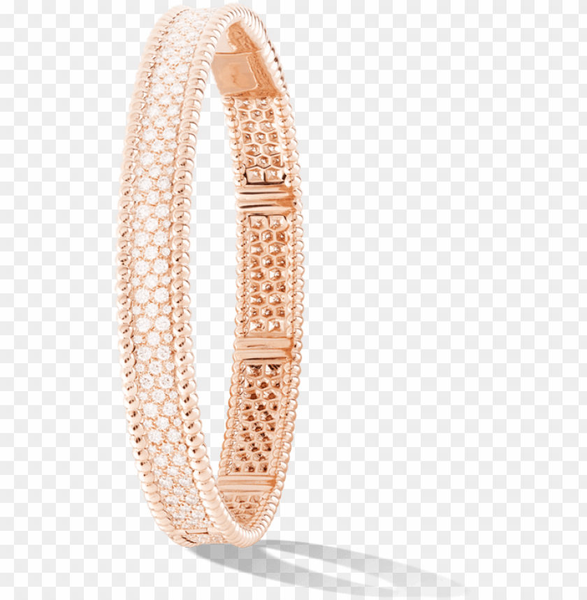 free PNG van cleef & arpels - van cleef perlee with diamond PNG image with transparent background PNG images transparent