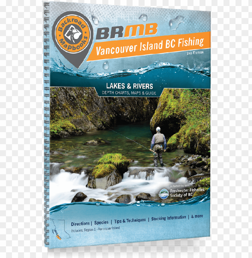 free PNG vancouver island fishing bc - backroad mapbooks - vancouver island bc fishing mapbook PNG image with transparent background PNG images transparent